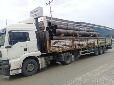 Delivery of Pipes Produced for Gebze